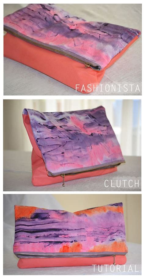 fashionista clutch tutorial new year gifts fabrics and