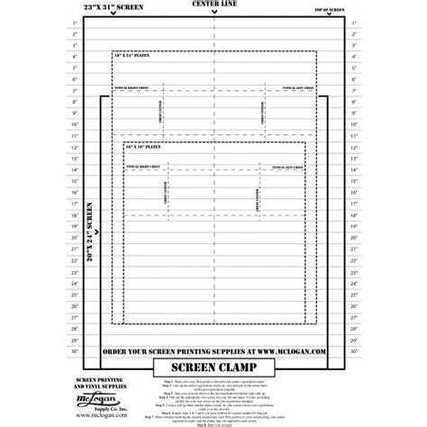 template for printing screen printing a template to easily register your