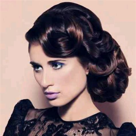 Vintage Bridal Hair Tutorial by 70 Best Coiffures D 233 Poque Images On Retro