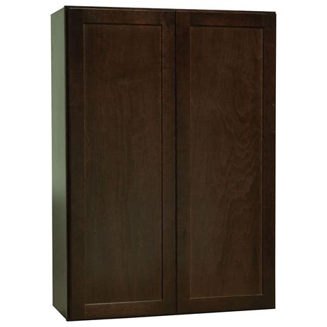 hton bay shaker cabinets hton bay shaker assembled 30x42x12 in wall kitchen