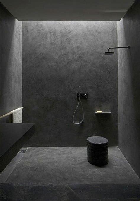schwarzes bad stilvolle und mutige badgestaltung in schwarz freshouse