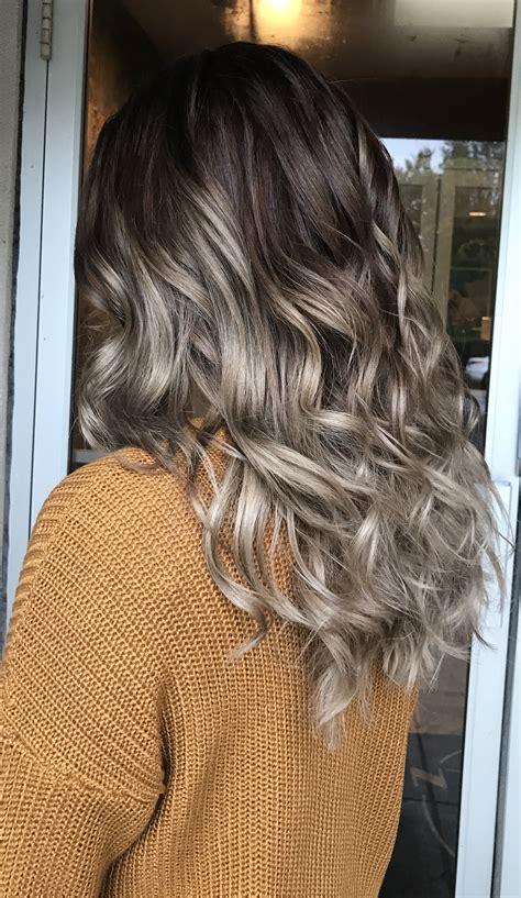 ashy hair color ashy fall hair brown hair goals