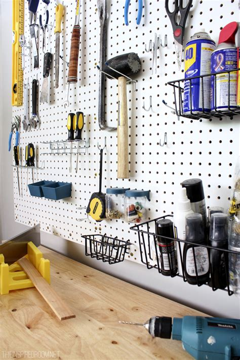 pegboard ideas tool pegboard organization ideas car interior design