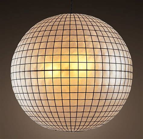 capiz shell globe light 482 best images about massinger st lights research on