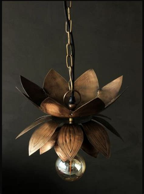Flower Ceiling Light Brass Flower Ceiling Light Mad About The House