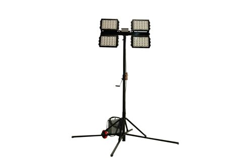 portable site lighting larson electronics releases mini light tower with high