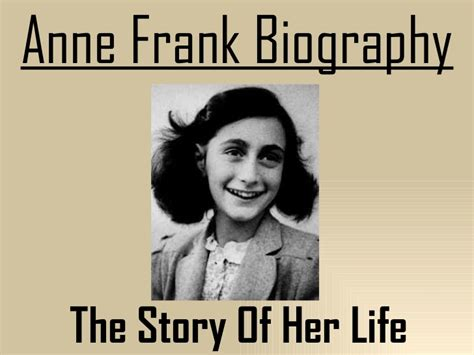 anne frank picture book biography anne frank biography serg