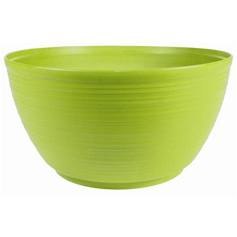 Plastic Planter Bowls by Bloem 24 In Terra Cotta Plastic Bowl Mb2124 46