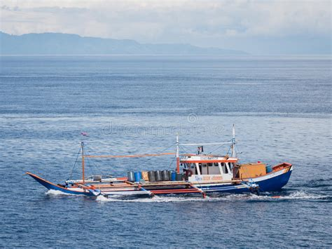 fishing boat in the philippines fishing boat in the philippines editorial image image