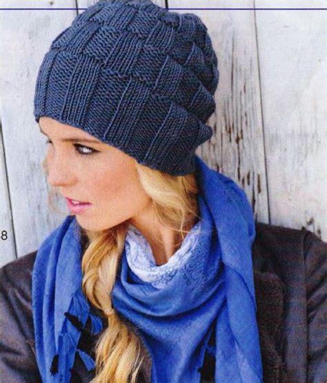вязание шапок из толстых ниток