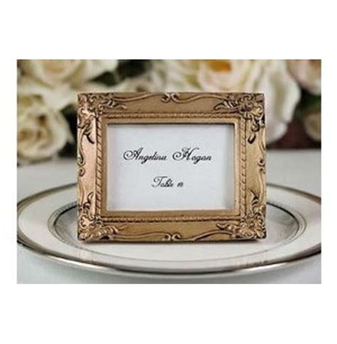 simple vintage earring place card holders in my own style black baroque wedding place card holder photo frame
