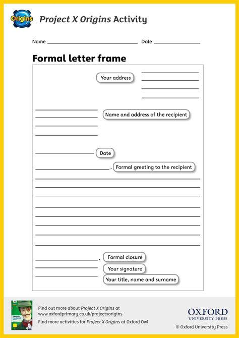 ks letter writing teachit primary