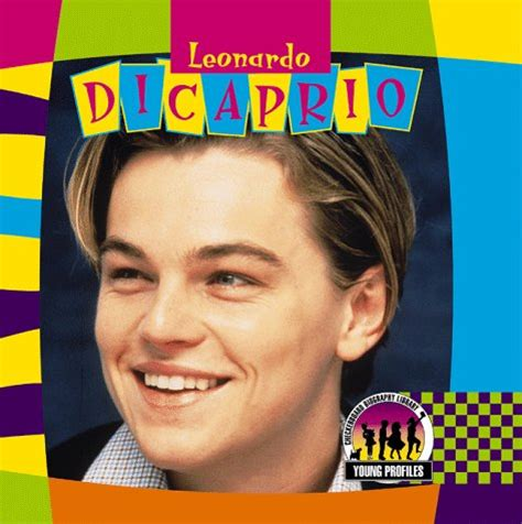 leonardo dicaprio biography book geometry net celebrities books dicaprio leonardo