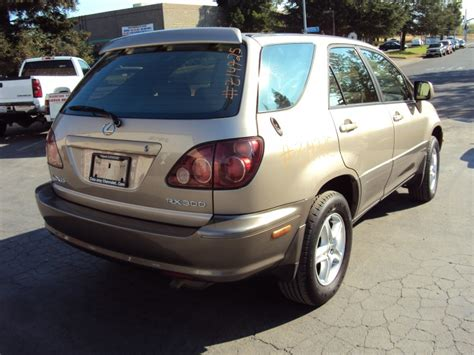gold lexus rx 1999 lexus rx300 std model 3 0l v6 at awd color gold