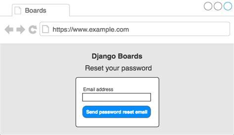 reset anz online password a complete beginner s guide to django part 4