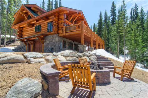 Breckenridge Co Cabins by Creek Cabin Amazing Log Home Homeaway