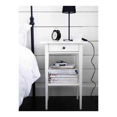 Ikea Hemnes Bedside Table Smooth Running Drawer With Pull Out Stop » Ideas Home Design