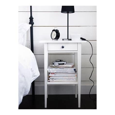 ikea hemnes comodino hemnes bedside table white 46x35 cm ikea