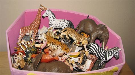 new year animals toys my animal collection in the box part 2 schleich safari