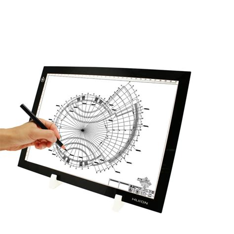 light up drawing board cheapest magic huion l4s usb powered led light up