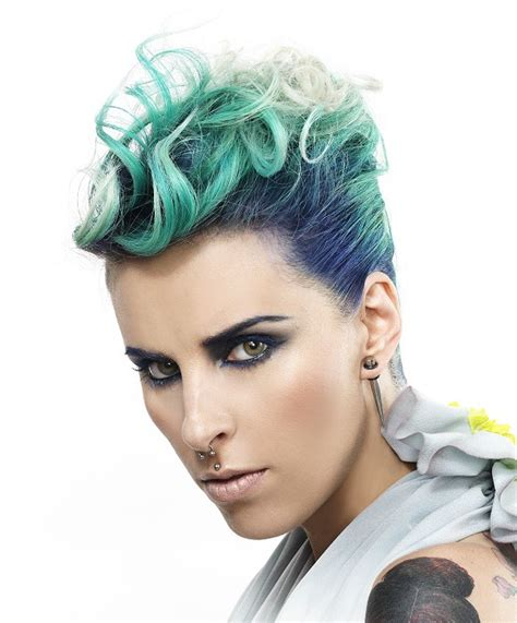 short haircut styles from philippines a short green hairstyle from the ph studio collection no
