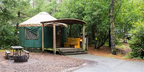 map of oregon state parks with yurts honeyman state park cground outdoor project