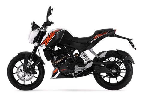 White Ktm Duke 200 Ktm 200 Duke Price Specs Review Pics Mileage In India