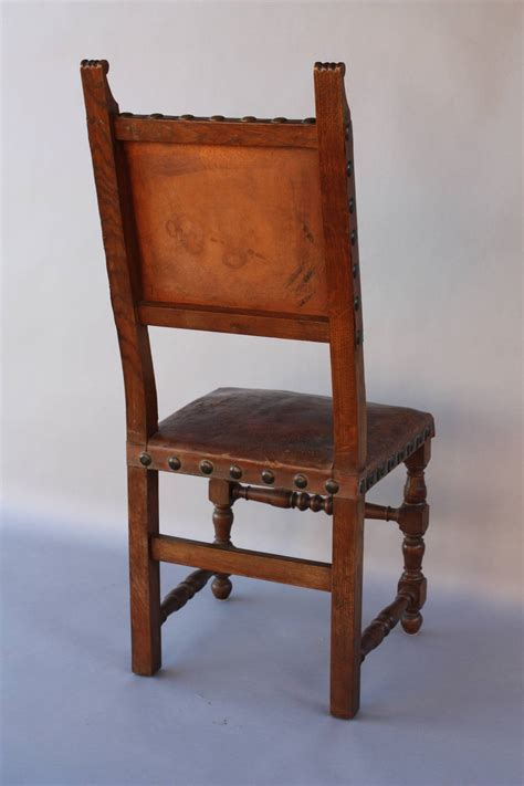 antique side chairs antique 1920s pair of leather side chairs at 1stdibs