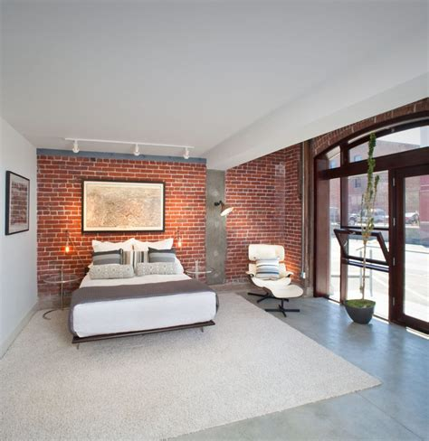 Victorian Home Interiors brick wall family room contemporary with narrow ledge