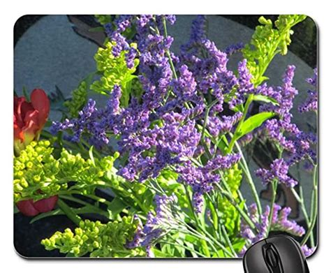 sunny lilacs mouse pad mousepad flowers mouse pad