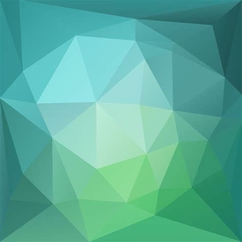 poly pattern ai abstract green blue low poly background vector