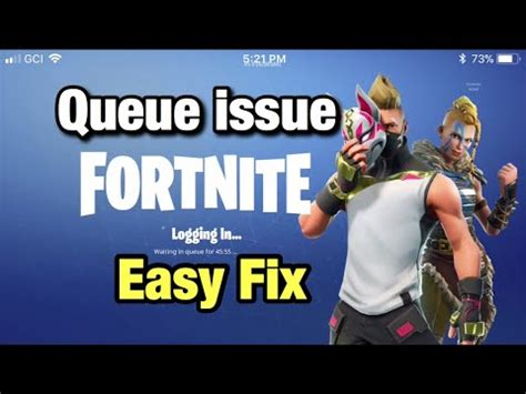 fortnite queue times fix how why does fortnite say waiting in queue buzzpls