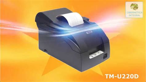 Epson Tm U220d Serial Manual impresora de tickets epson tm u220d serial recibo