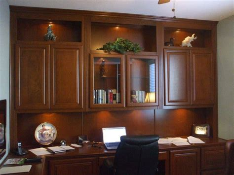 Built In Home Office Furniture Custom Home Office Cabinets Cabinet Wholesalers