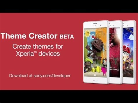 theme creator tool 2015 developer world