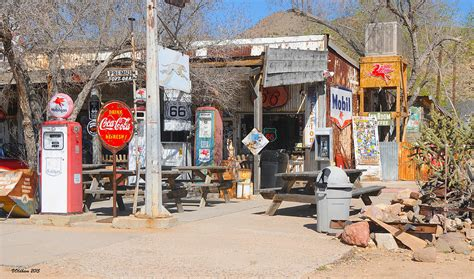 Home Decor Blogs Usa by Old Gas Station Historic Route 66 Photograph By Victoria