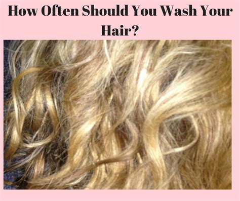 how often should you wash your hair slide 1 how often should you wash your hair