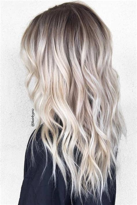 platinum hair with dark highlights for women60 years old 50 platinum blonde hair shades and highlights for 2018