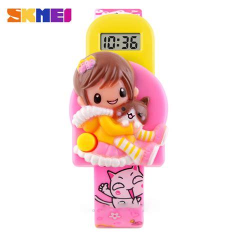 Jam Tangan Anak Upin Ipin skmei jam tangan anak dg1240 pink jakartanotebook