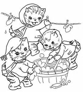 kitten counting colouring activity kid activities primary times