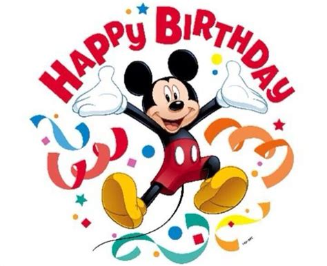 Mickey Mouse Happy Birthday Wishes 43 Best Images About Birthday Disney On Pinterest Disney