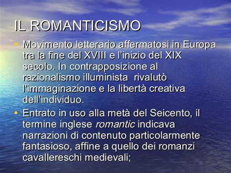 romanticismo e illuminismo a confronto romanticismo e illuminismo a confronto 28 images mappa