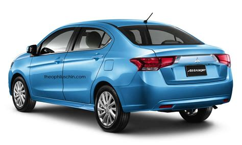 Mitsubishi Attrage 2020 by Mitsubishi Attrage Receives Outlander S Styling Cues Is