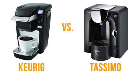 Keurig vs. Tassimo Single Serve Coffee Makers   What's Better?
