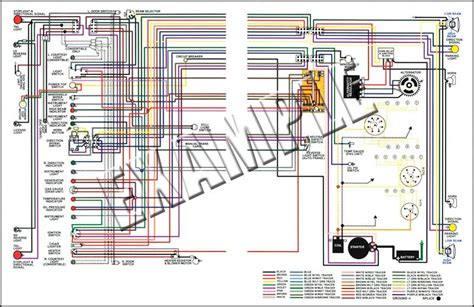 models parts   nova full color wiring diagram  console