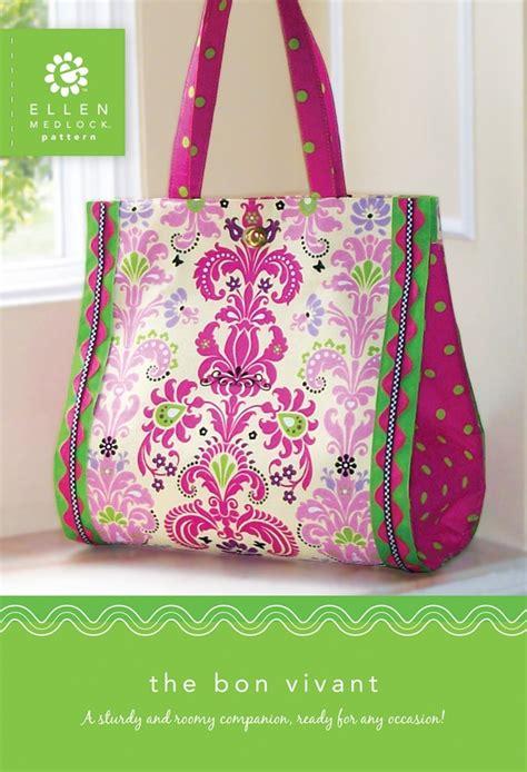 downloadable tote bag pattern pdf download of the bon vivant bag sewing pattern 114x