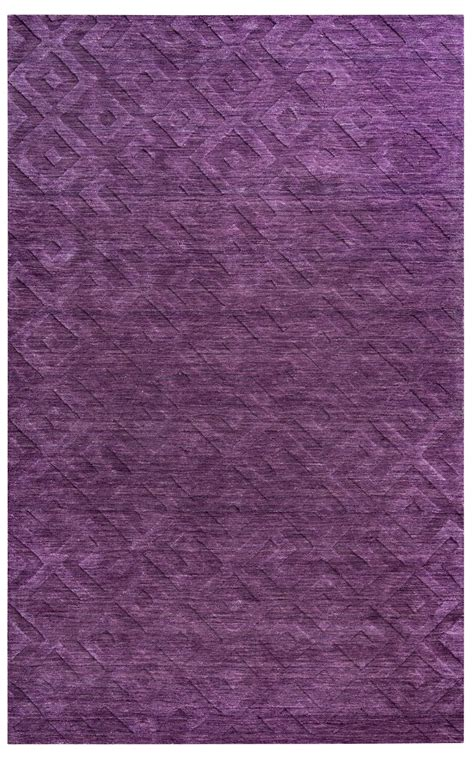 Faded Area Rug Technique Faded Key Wool Area Rug In Purple 8 X 10