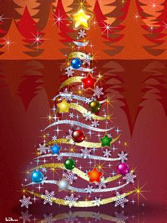 animated  elochka cell phone wallpaper category holidays merry christmas