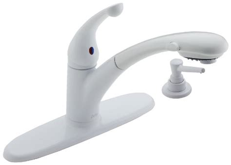 delta signature kitchen faucet best buy sale delta signature 470 whrs dst single handle pull out kitchen faucet with soap