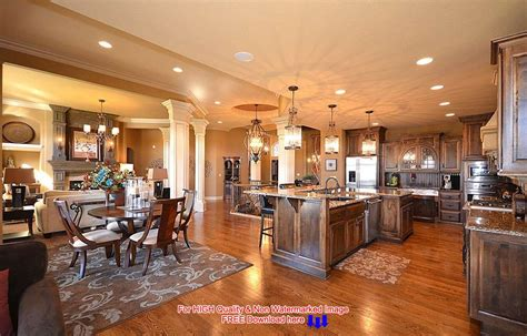 open house design decorating an open floor plan ideas acadian house plans